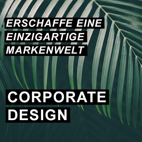 Erschaffe eine einzigartige Markenwelt - Corporate Design