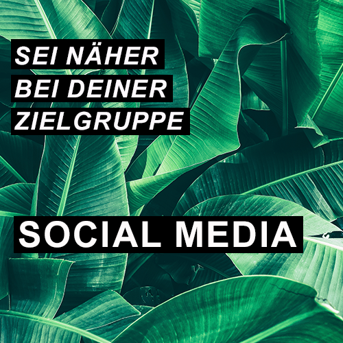 Sei näher bei deiner Zielgruppe - Social Media