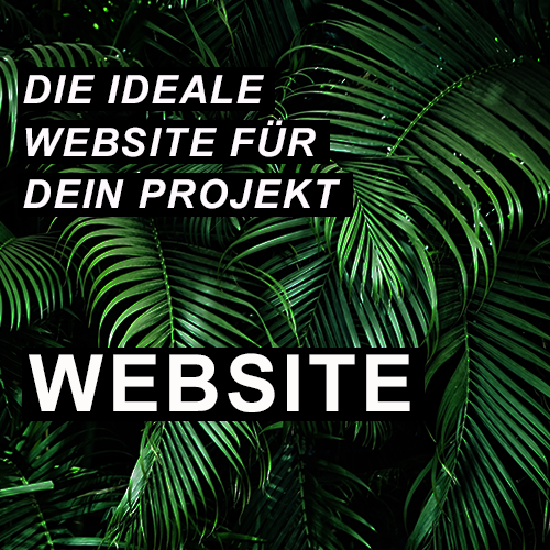 Die ideale Website für den Projekt - Website